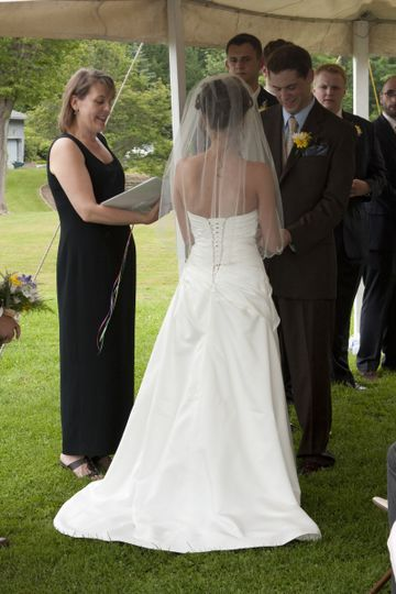 Reverend Cathleen Brauen Officiant Rochester Ny Weddingwire
