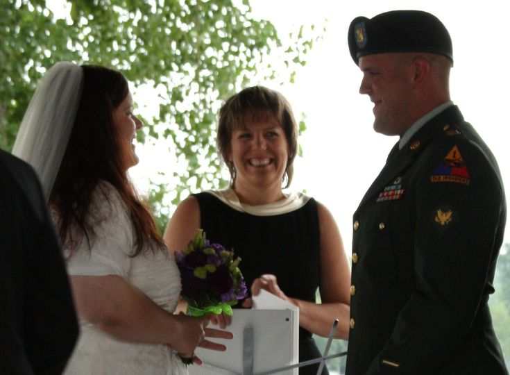 Officiant of the ceremony
