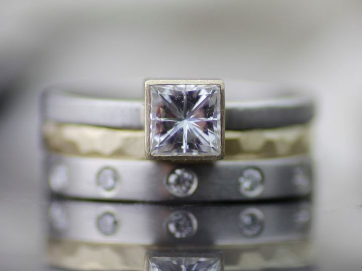 Tmx Square Three Ring With Half Eternity Landscape 51 942603 161041393769544 Seattle, WA wedding jewelry