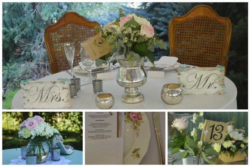 a touch of whimsy events collage