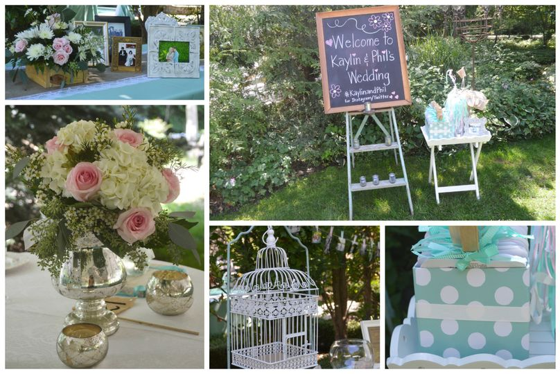 a touch of whimsy events collag