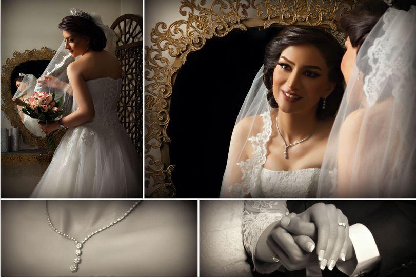 Bridal collage