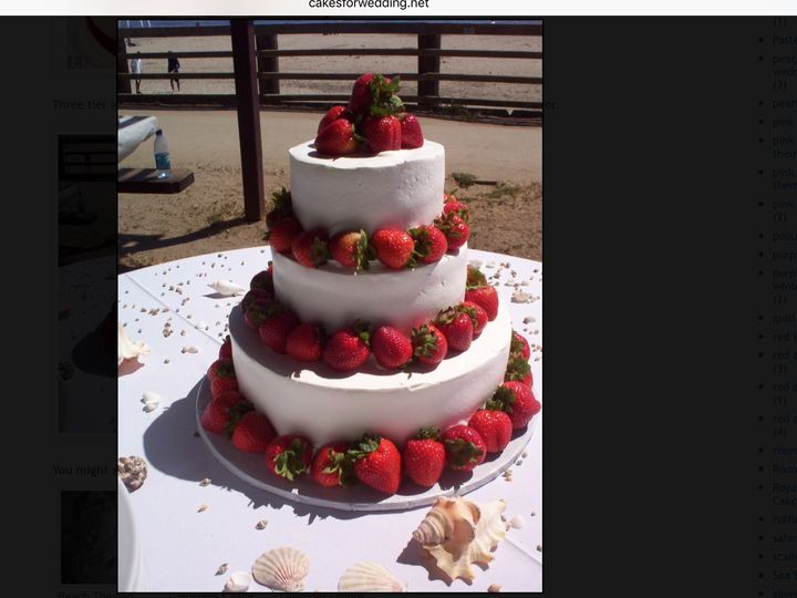 Tmx 1482168627851 Image Hood River wedding cake