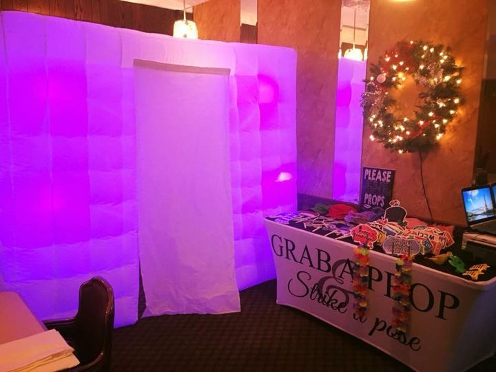 White Inflatable Photobooth