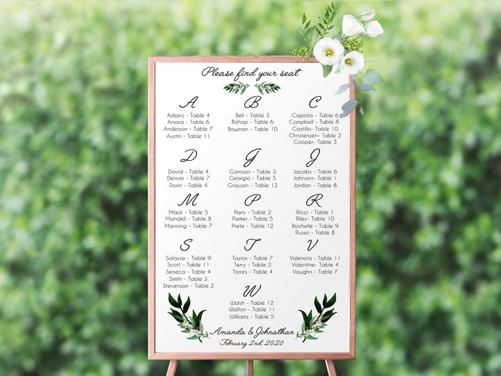 Tmx Greenery1mockup 51 1885603 158766567883290 Shoreham, NY wedding invitation