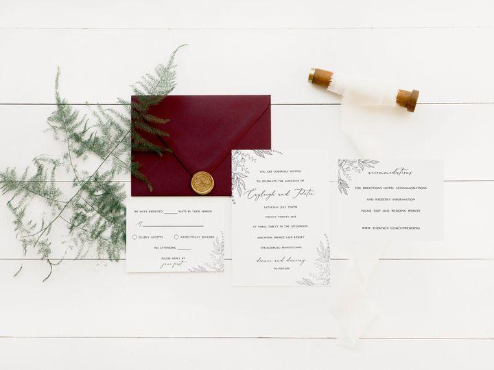 Tmx Img 2472 51 1885603 159733750892313 Shoreham, NY wedding invitation