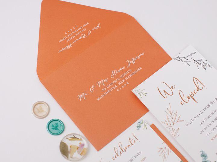 Tmx Persimmon Linenpine Lilypannella 4 51 1885603 162681170532662 Shoreham, NY wedding invitation