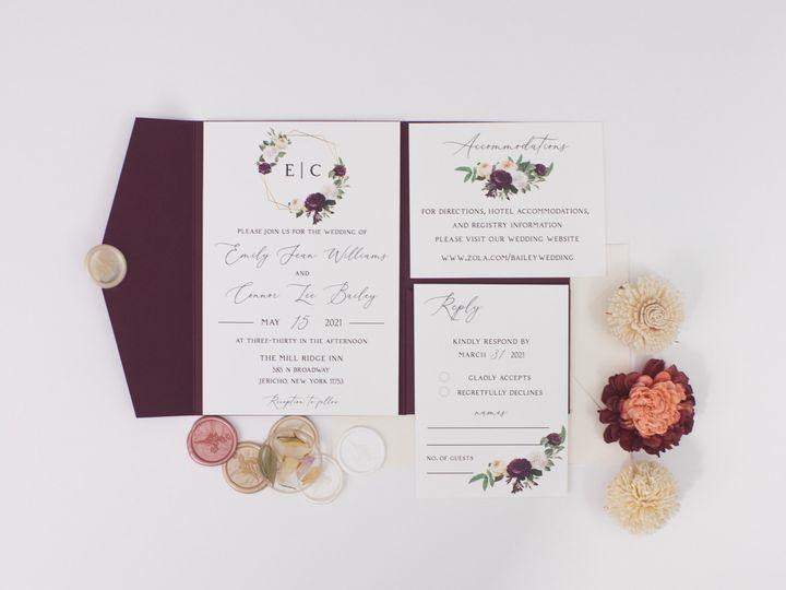 Tmx Romance Linenpine Lilypannella 5 51 1885603 162681230557173 Shoreham, NY wedding invitation