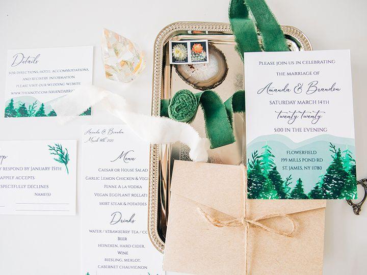 Tmx Seaweedanddiamondsfor Linenandpine 12 Of 40 51 1885603 160703165918036 Shoreham, NY wedding invitation