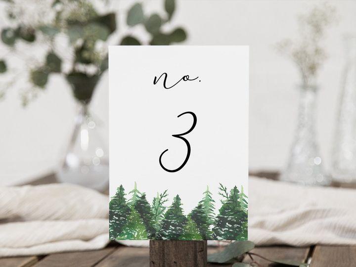 Tmx Tablenumbers Wilderness 51 1885603 158765808690863 Shoreham, NY wedding invitation