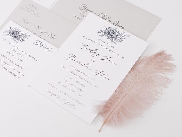Tmx Whitegarden Linenpine Lilypannella 2 51 1885603 162681181928210 Shoreham, NY wedding invitation