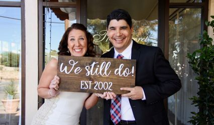 The wedding of Ryan and Lindsey