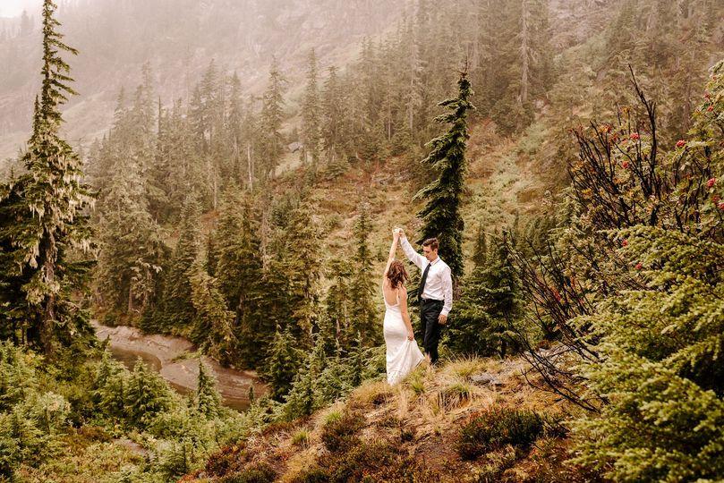 Intimate Wedding--Mountains
