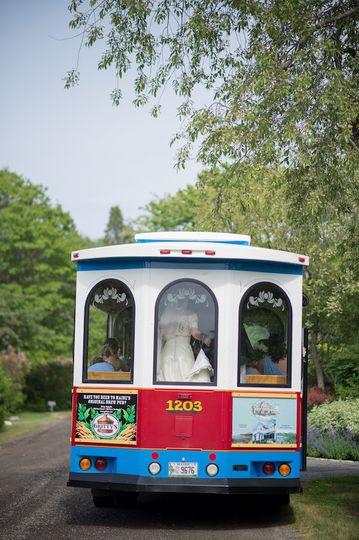 Trolley wedding
