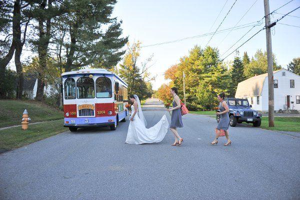 Tmx 1328195530059 RubyTrolley1 Portland, ME wedding transportation