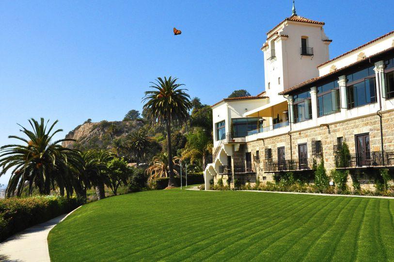 Exterior view of Bel-Air Bay Club