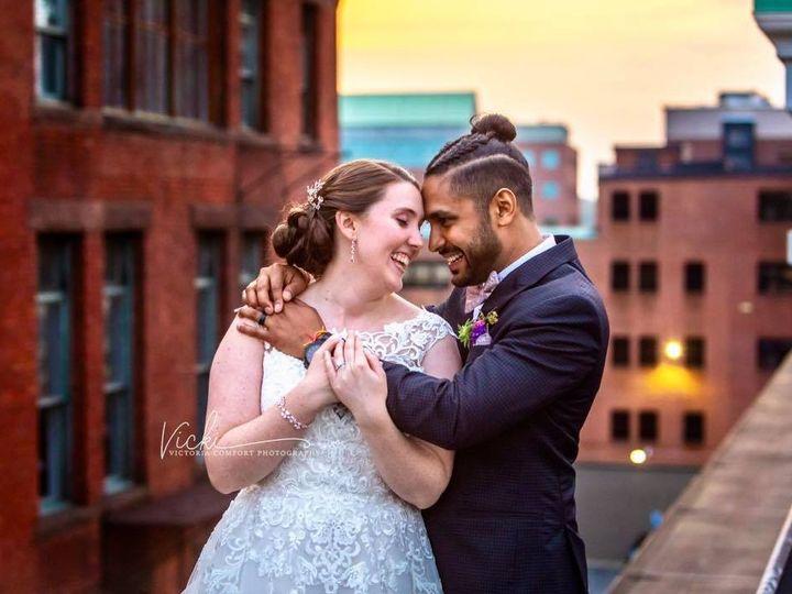 Tmx Couple Rooftop 1 51 378603 1564663599 Providence, RI wedding venue