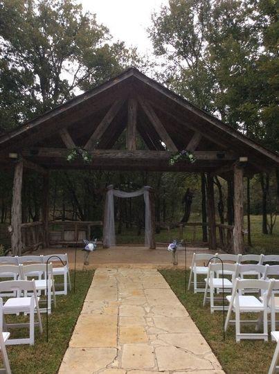 Outddor wedding