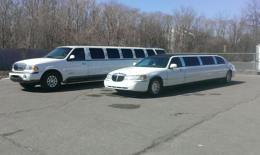 limo and navi lined up
