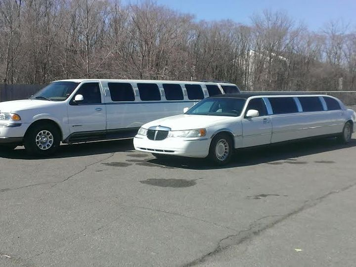 Tmx 1434419685050 Limo And Navi Lined Up Lansing wedding transportation