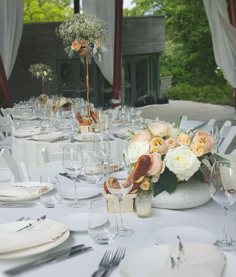 IHO Joy and Johnny Queens Botannical Garden Wedding Planner, Stylist, Caterer, Floral and Decor,...