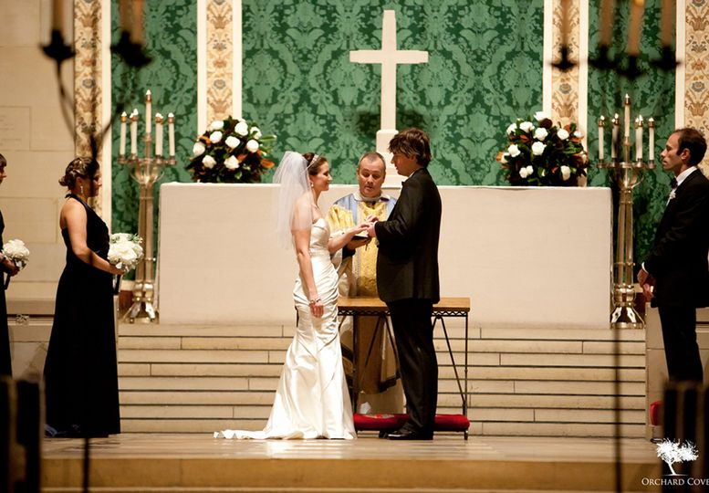 IHO Emmy and Andy Church of the Heavenly Rest Wedding Planner/ Coordinator, Floral and Decor,...
