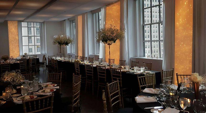 IHO Richard and Stefanie 620 Loft and Garden at Rockefeller Center Wedding Planner/ Coordinator,...