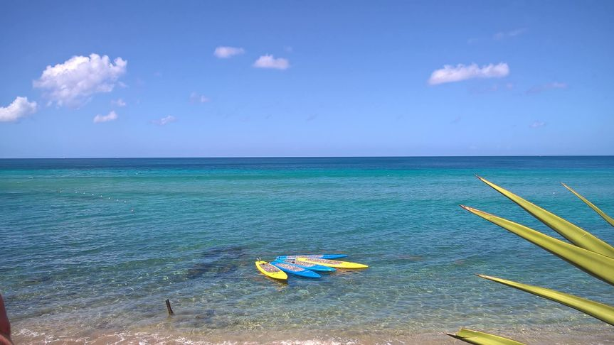 St Kitts paddle boarding excursion