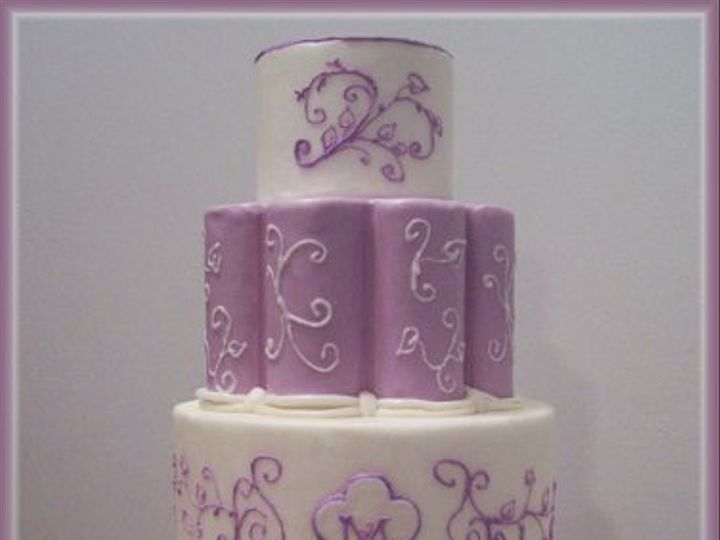 Tmx 1256079056324 Jazmine Wendell wedding cake