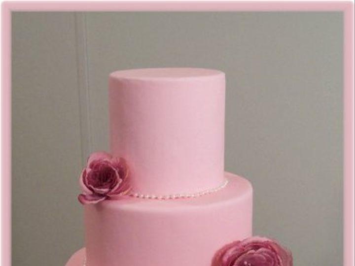 Tmx 1256508940496 Pinkrose Wendell wedding cake