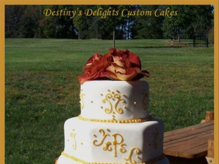 Tmx 1296573151049 StacyWeddingCake2 Wendell wedding cake