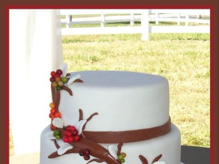 Tmx 1296574140831 FallberryWeddingCake Wendell wedding cake