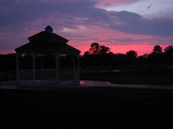 Tmx 1245557258515 May23SunsetbehindGazebo Pennsburg, PA wedding venue