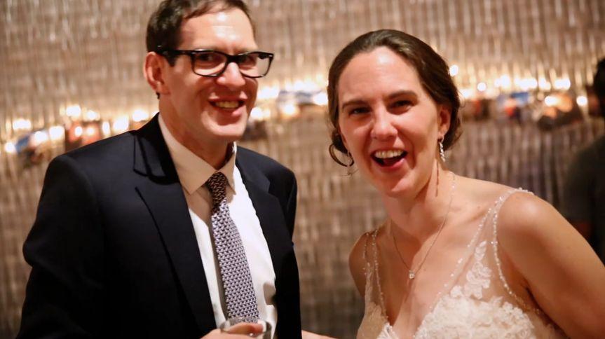 A happy couple - Videography by Matt