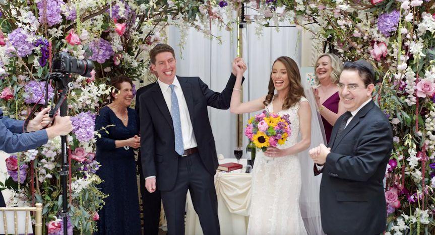 Just married joy - Videography by Matt
