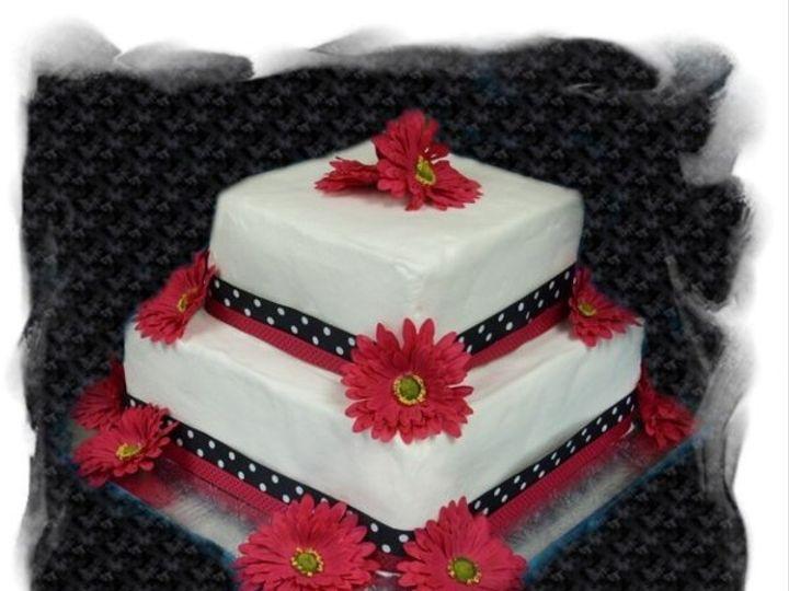 Tmx 1227325065344 PinkNblack Clinton, IA wedding cake