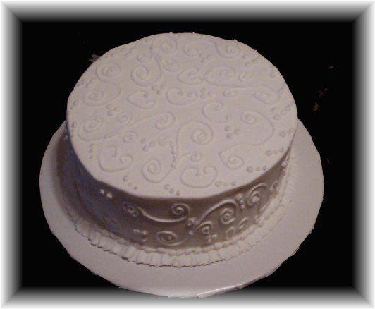 Tmx 1227325192188 Scrollcake1 Clinton, IA wedding cake