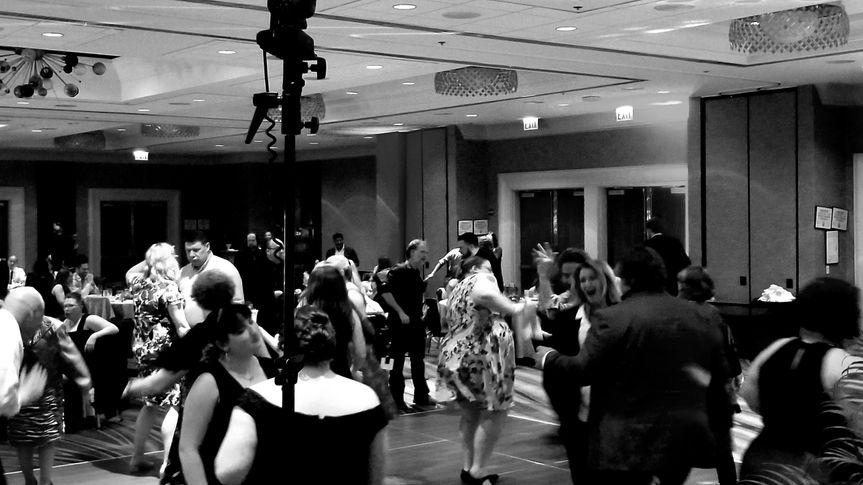 Dancing b&w