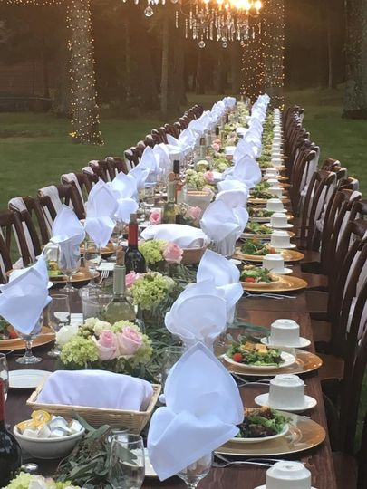 Banquet setup