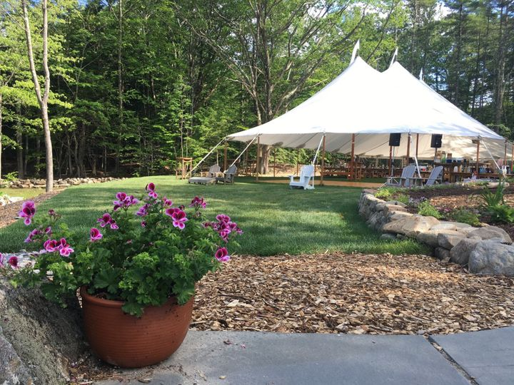Our Sailcloth Tent from Patio