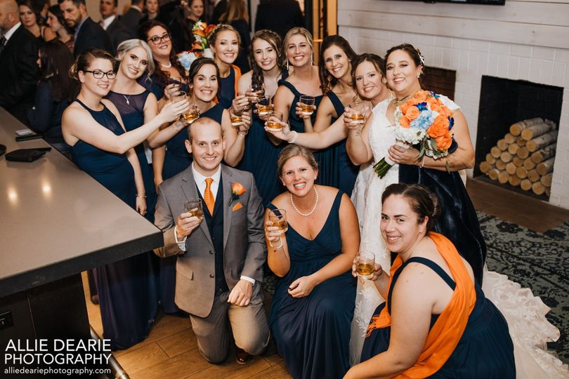 Toasting the Brides