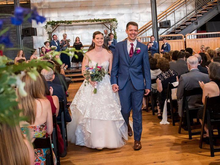 Tmx Marlataylorrecessional 51 737703 1566677687 Raleigh, NC wedding officiant