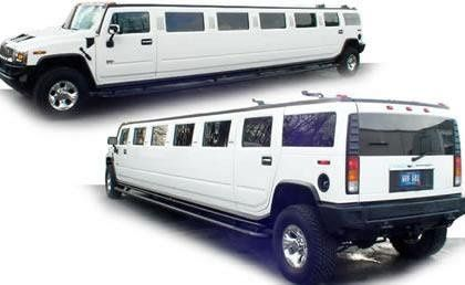whitehummerlimo