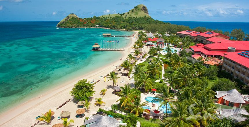 Sandals Resorts in St. Lucia are perfect for honeymoons and romantic getaways.