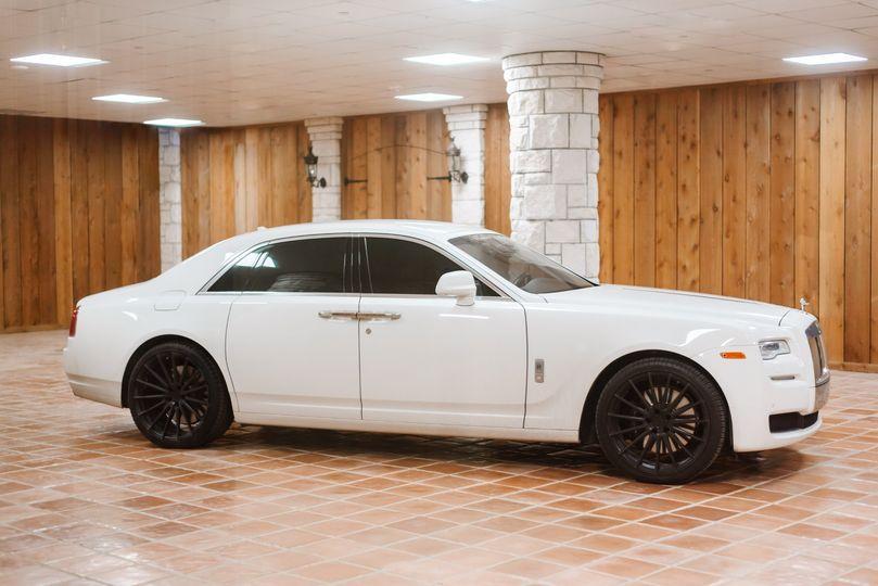 Rolls Royce getaway car
