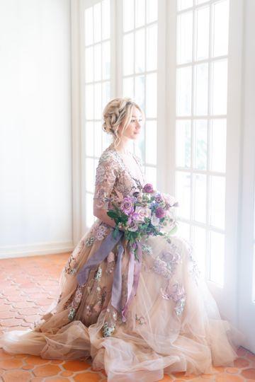 Beautiful bridal portraits