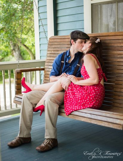 Ben + Brittany Engagement (Emily K Timmons Photogrpahy, Venue: Zidler Mill)