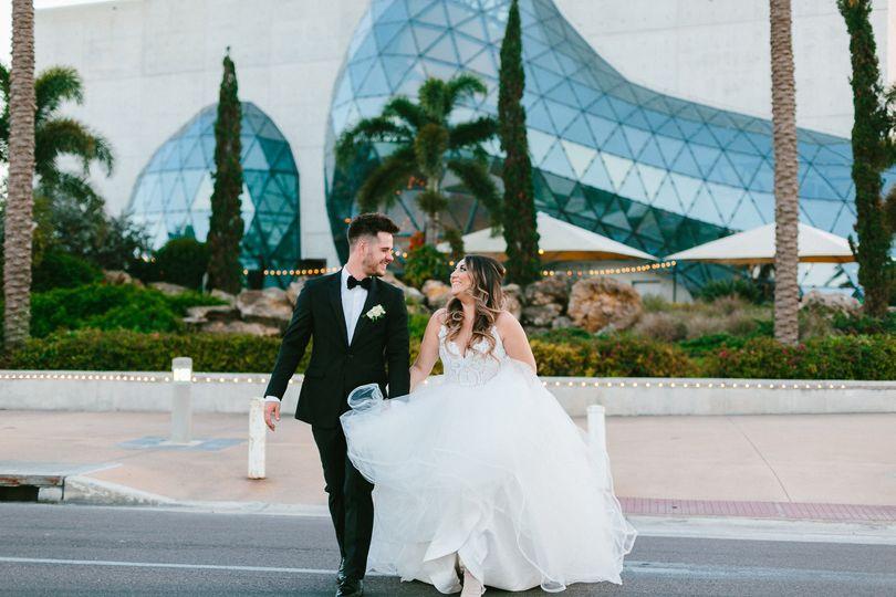 The Dali Museum Wedding