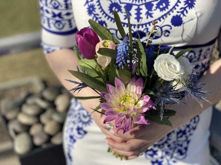 Petite Bridesmaid bouquet