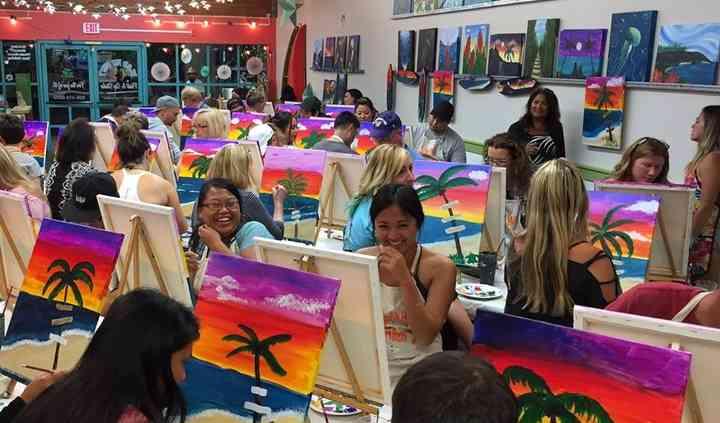 Island Art Party